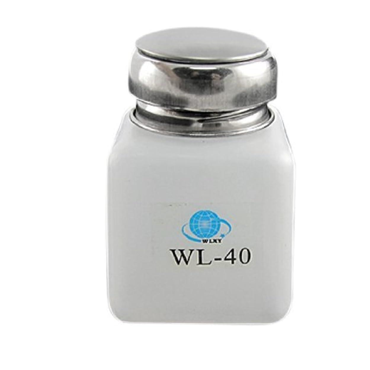 批評協定空気DealMux白100ML容量逆流防止アルコールボトル容器