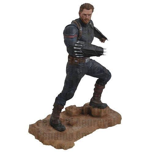 Diamond Select Toys Marvelギャラリー: Avengers infinity WarムービーキャプテンアメリカPVC Diorama Figure