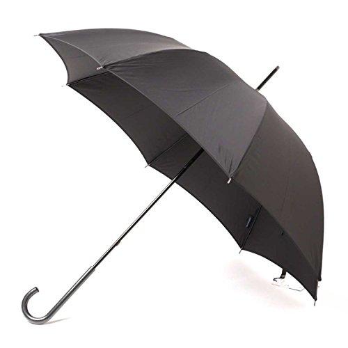 傘 シンプル スリム 軽量 無地 シャドーロゴ 60サイズ バーバリー 71845 BURBERRY ブラック メンズ