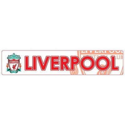 [해외]리버풀 FC (흰색) 범퍼 스티커/Liverpool FC (white) bumper sticker