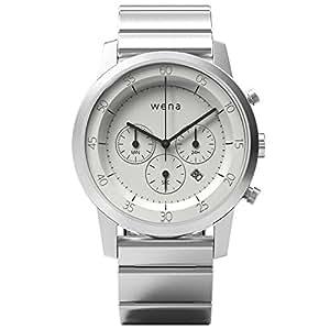 [wena project] wena wrist Chronograph White WN-WC01W