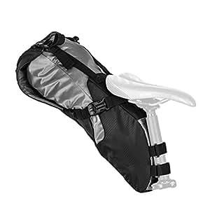 Blackburn(ブラックバーン) サドルバッグ 自転車 サイクリング 大容量 防水 バイクパッキング OUTPOST [アウトポストシートパック&ドライバッグ] 7068196