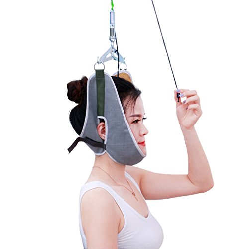 フックタイプ頚椎牽引首マッサージ療法装置ストレッチャーカイロプラクティック姿勢補正装置ヘッドバックリラクゼーション