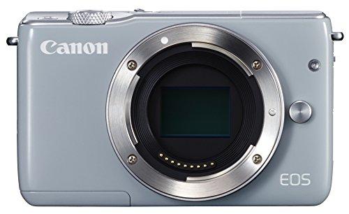 Canon ミラーレス一眼カメラ EOS M10 ボディ(グレー) EOSM10GY-BODY