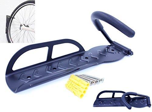 自転車 壁掛け フック 縦収納 バイク ハンガー ディスプレイ ラック 【 可動式 / 固定式 から選べます】 1個セット(可動式)