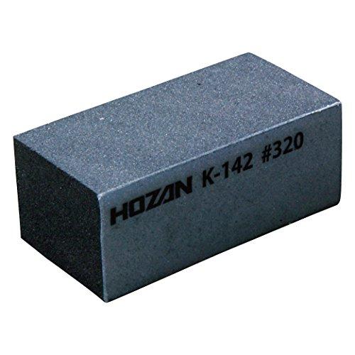 ホーザン(HOZAN) ラバー砥石 ♯320 きれいな仕上げ コテ先研磨ではペーストタイプに比べ均一にムラなく研磨可能  K-142