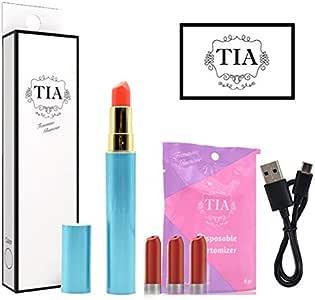 TIA ティア ビタミン入り 口紅型 電子タバコ スターターキット (グリーン)