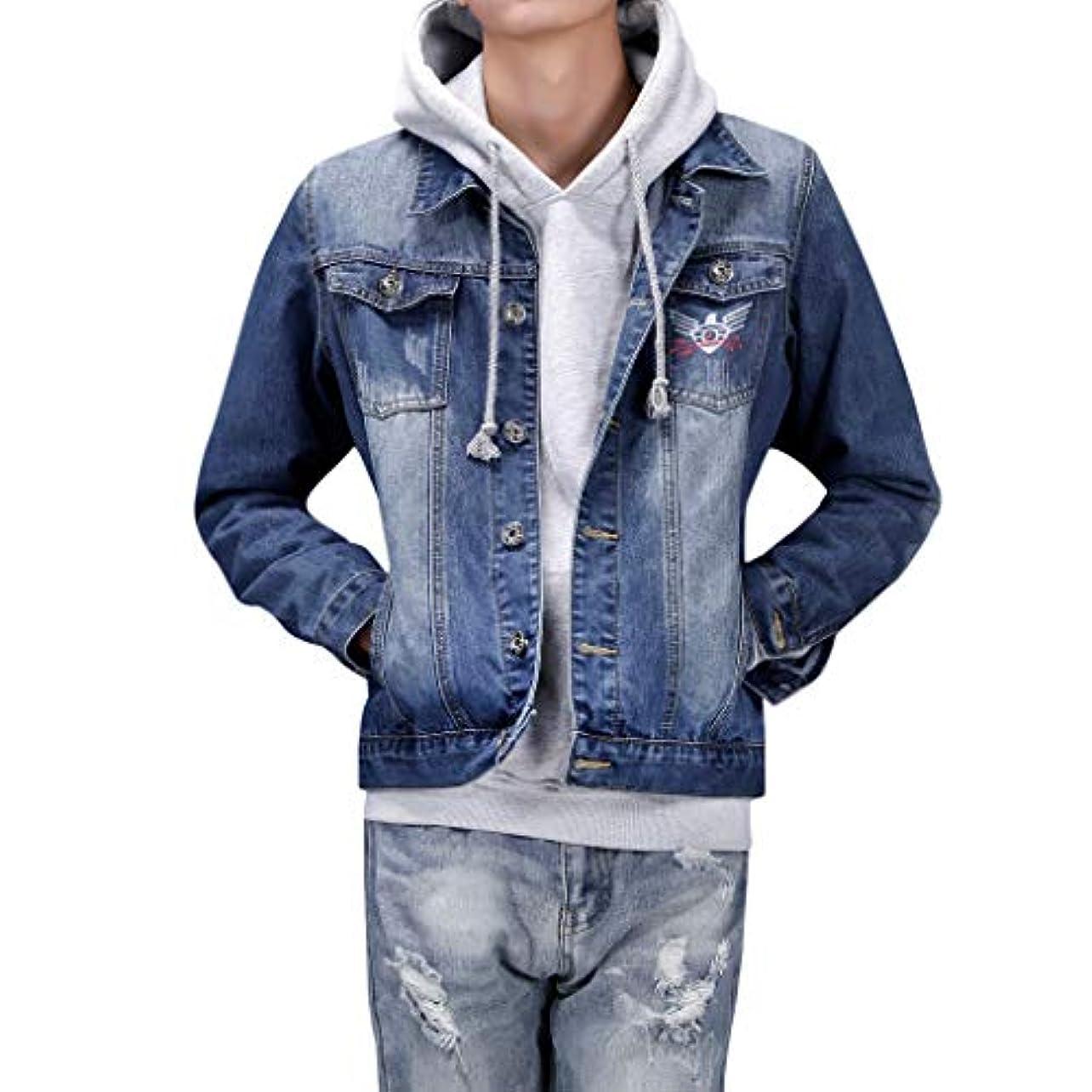 ずっとダイバー精通したMangjiu コート メンズ 服 冬服人気 暖コート 上着 綿衣 おしゃれ ジャケット 防風 防寒 アウトドア 登山 服 メンズデニムポケットプルオーバー長袖トレーナートップスブラウス生き抜くコート