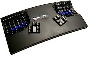 Kinesis KB500USB-BLK Advantage USB Contoured Keyboard (Black) 並行輸入
