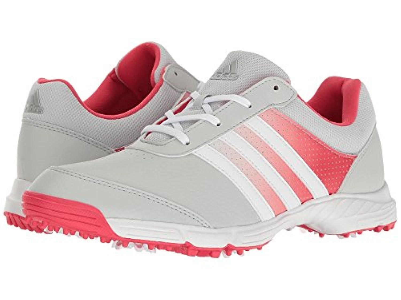 (アディダス) adidas レディースゴルフシューズ?靴 Tech Response Clear Grey/Ftwr White/Core Pink 9 (26cm) B - Medium