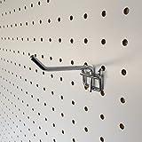 有孔ボード フック T型50mm(5個入り)穴径5ミリ穴ピッチ25ミリ用
