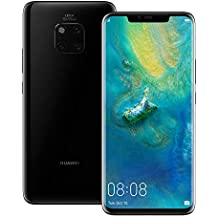 Huawei Mate 20 Pro (LYA-L29) 6GB / 128GB 6.39-inches LTE Dual SIM Factory Unlocked (International Version) (Black)