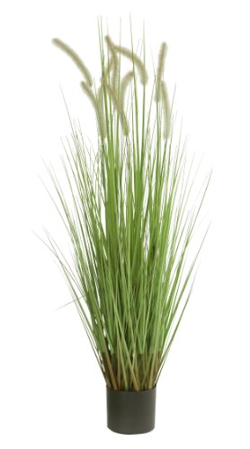 萩原 CATTAIL GRASS キャットグラス 高さ約122cm 光触媒加工付き 人工観葉植物 1鉢