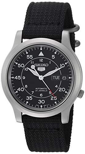 [セイコー] 腕時計 海外モデル SNK809K2 ブラック メンズ [逆輸入品]