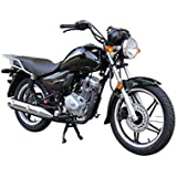 新大洲HONDA(ホンダ)CBF125T ブラック SOX24ヶ月保証 乗り出し価格 [並行輸入品]