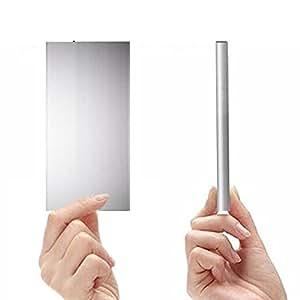大容量 超薄型 モバイルバッテリー ( 20000mah 2ポート iphone スマホ 2台 同時 充電 可能 ) LED 搭載 充電器 ( Camel Charger ) (ナイト・ブラック)