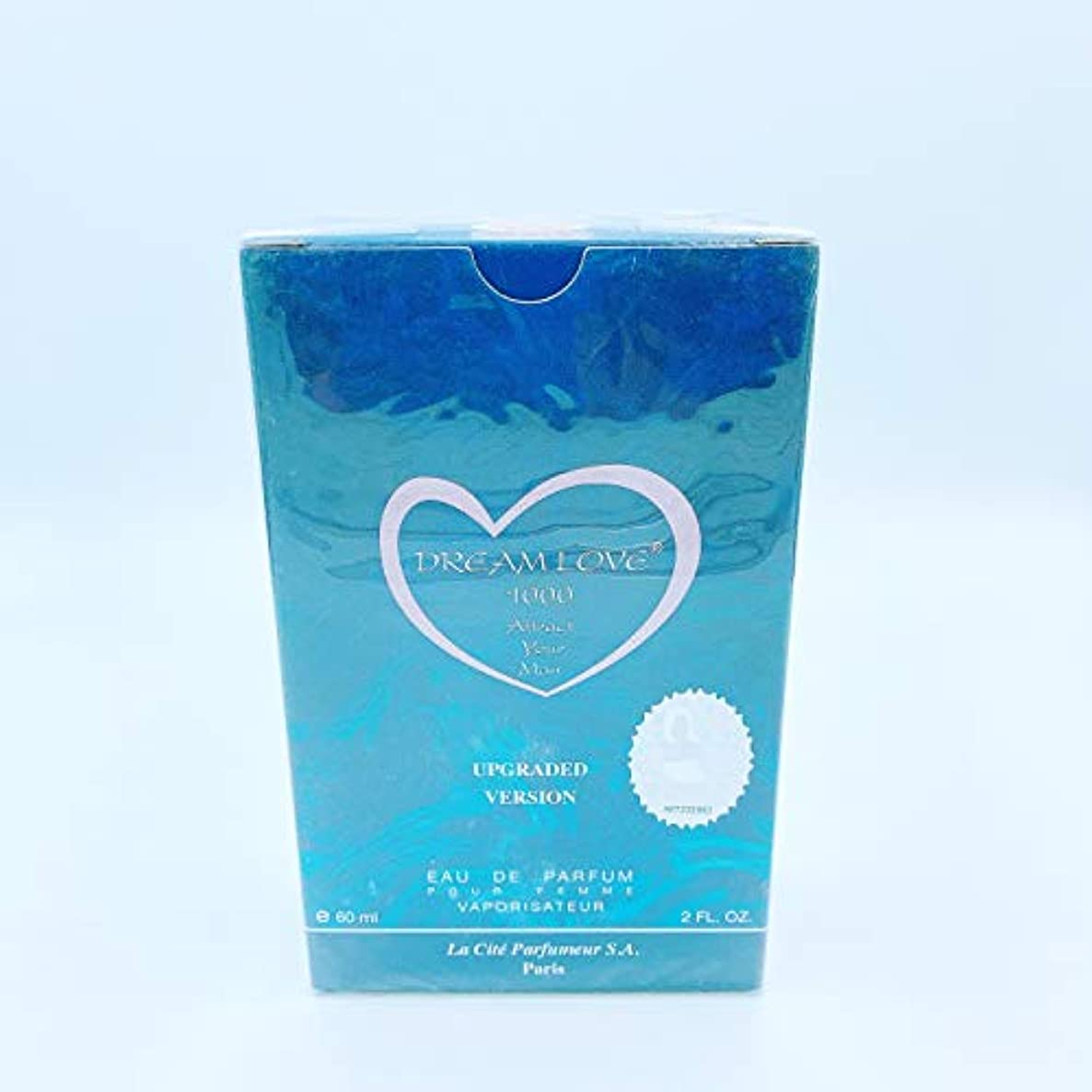 敬の念同一性ヘッジDREAM LOVE 1000 UPGRADED VERSION EAU DE PARFUM 60ml