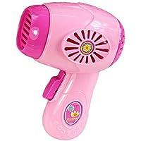 SONONIA  2枚 ドライヤー 家電 ごっこ遊び キッズ ドールハウス おもちゃ用 ピンク