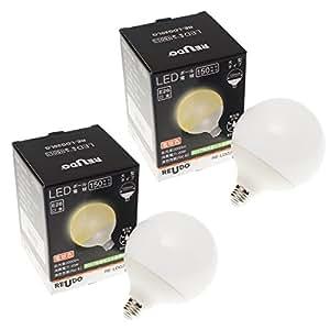 大型LEDボール電球 直径12cm E26口金 電球色 2000lm(一般電球150W形相当の明るさ) 全方向タイプ (2個セット)