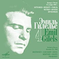 Gilels Edition 4 by EMIL GILELS (2011-08-09)