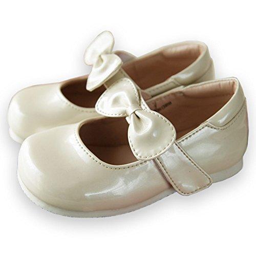 (キャサリンコテージ) Catherine Cottage フォーマル靴(女の子用) キッズ フォーマルシューズ TKST04 20cm リボンストラップ・白[OWT1]