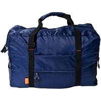 ミヨシ 旅人専科 旅行先での外出時やお土産を入れるのに便利な折りたたみボストンバッグ ネイビ- MBZ-CB01/NV MBZ-CB01/NV