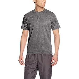 [グリマー] 半袖 メンズ 4.4oz ドライTシャツ (クルーネック) 00300-ACT ミックスグレー L (日本サイズL相当)
