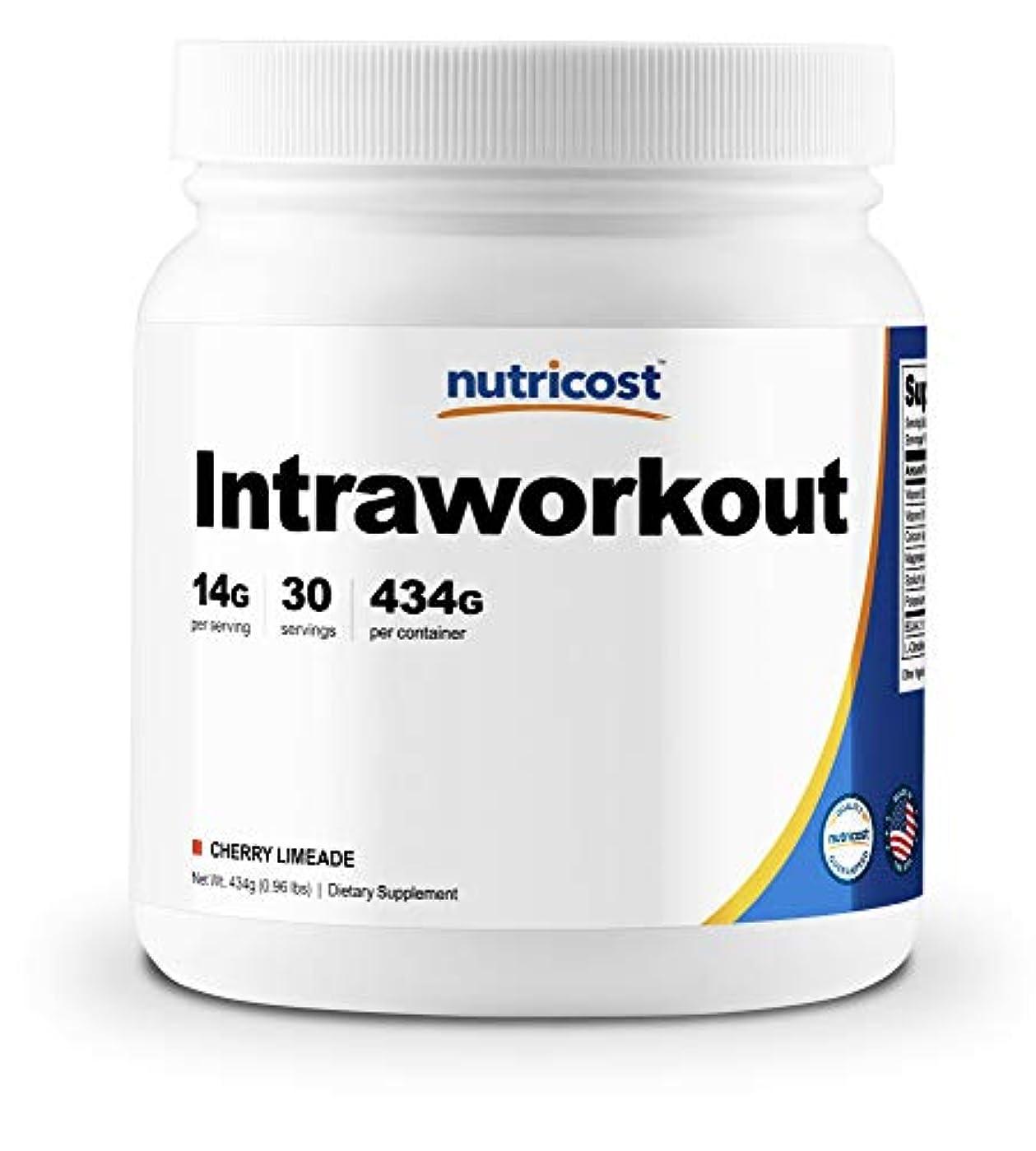 Nutricost イントラワークアウトパウダー(チェリーライムエード味)、非GMO、グルテンフリー