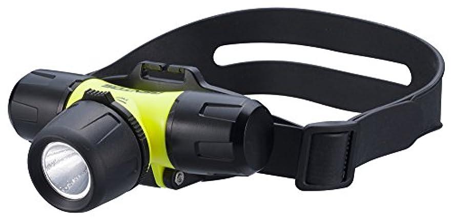 優先うがい延ばすGENTOS(ジェントス) LED ダイビング ヘッドライト 【明るさ200ルーメン/実用点灯4時間/25m防水】 単4形電池4本使用 SR-244DH ANSI規格準拠