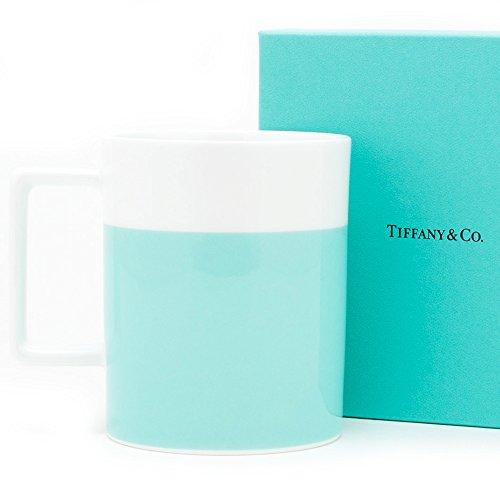ティファニー TIFFANY&Co カラーブロック マグ マグカップ コップ 1客 14オンス 280ml