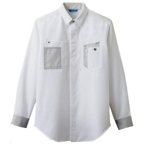 [チトセ]chitose【シャツ(長袖)】NEW blanchi・形態安定シャツ《031-BC-7714》 (SS, C-1ホワイト)