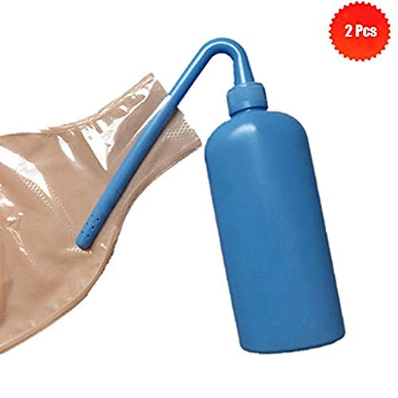 ショッキング平衡してはいけません2個ストーマ袋クリーナークリーニングボトルストーマ袋スツールバッグ特別なクリーニングストーマケア製品ストーマリンスポット、350ML