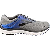 Brooks Men's Adrenaline GTS 18 4E, Grey/Blue/Black