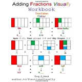 Adding Fractions Visually Workbook Third Edition Colour