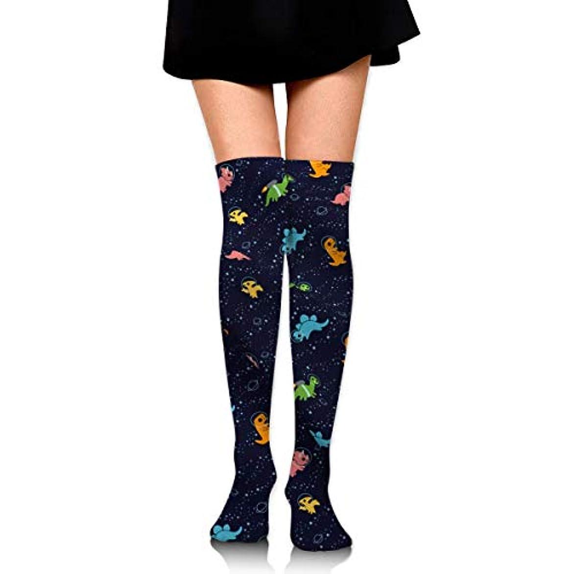 衝撃現代養うMKLOS 通気性 圧縮ソックス Breathable Thigh High Socks Over Exotic Psychedelic Print Compression High Tube Thigh Boot Stockings...