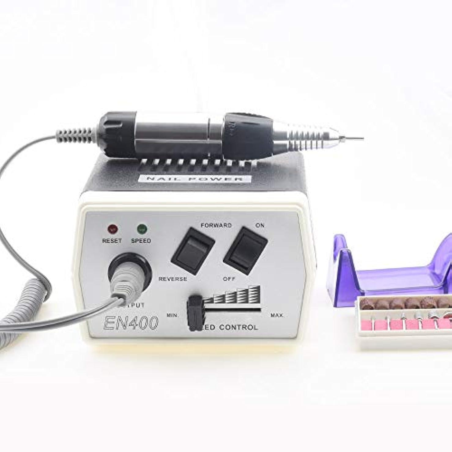 35ワットJD400電動ネイルアートドリル機ネイル機器マニキュアペディキュアファイル電動マニキュアドリル&アクセサリー