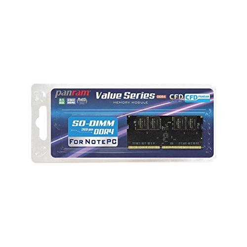 CFD販売 ノートPC用メモリ PC4-17000(DDR4-2133) 8GB×1枚 260pin DIMM (無期限保証)(Panramシリーズ) D4N2133PS-8G