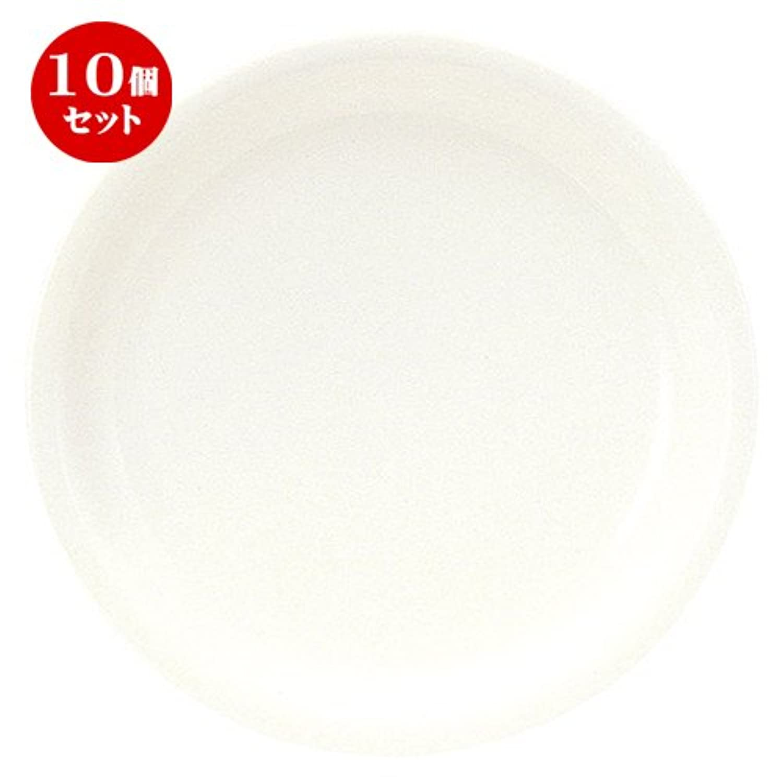 10個セット ボーンセラム 25cm ディナー皿 [ D 25 x H 2.5cm ] 【 大皿 】 【 飲食店 レストラン ホテル カフェ 洋食器 業務用 】