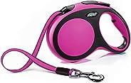 Flexi Comfort Cord Retractable Dog Lead, Pink