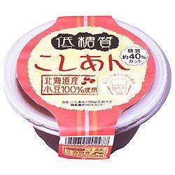 遠藤製餡 低糖質 こしあん 200g×24個入×(2ケース)