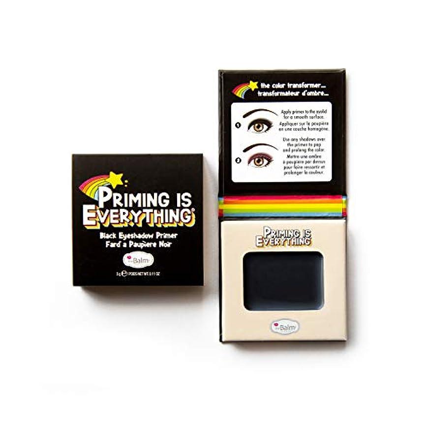 アデレードフットボールロマンスザバーム Priming Is Everything - # Black Eyeshadow Primer 3g/0.11oz並行輸入品