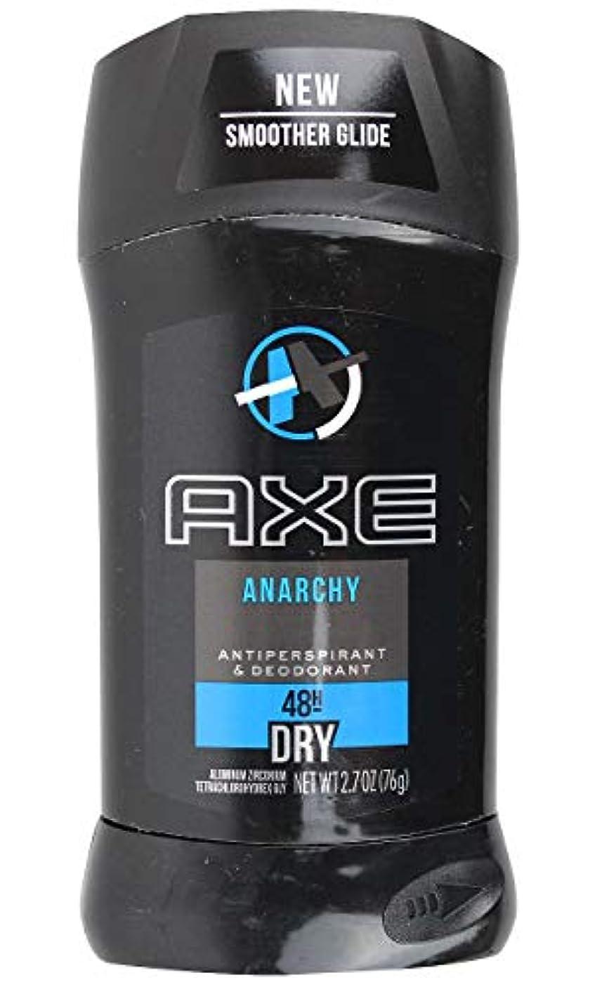汚染されたたくさんの見積りアックス AXE メンズ デオドラント アナーキー 男性用 固形 制汗剤 48H ドライ 76g