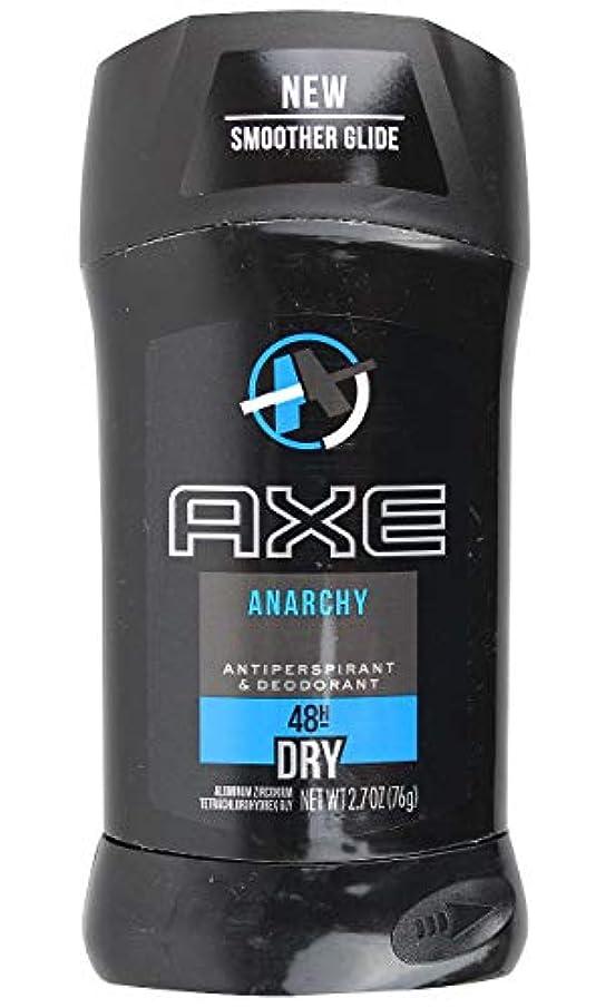 スーツ住人イーウェルアックス AXE メンズ デオドラント アナーキー 男性用 固形 制汗剤 48H ドライ 76g