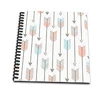 (12x12 memory book) - Janna Salak Designs Boho - Tribal Arrows Pattern - Memory Book 30cm x 30cm (db_214555_2)