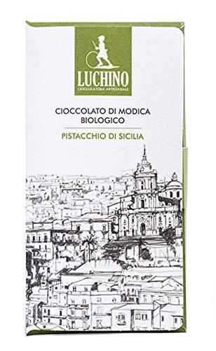 ルキーノ 有機モディカチョコレート ピスタチオ 50g