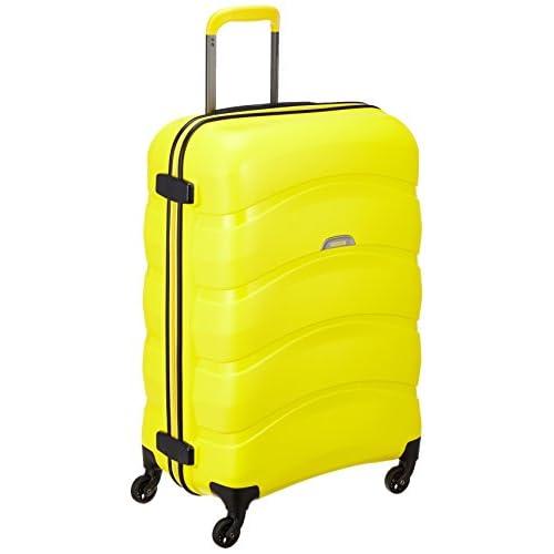 [アメリカンツーリスター] AmericanTourister スーツケース CROSSWAVE クロスウェーブ スピナー69 70L 3.5kg I56*26002 26 (エレクトリックイエロー)