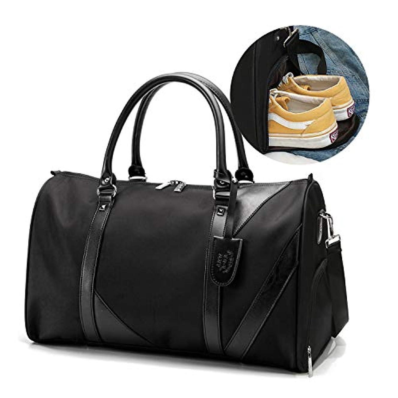 [TcIFE]ボストンバッグ レディース メンズ スポーツダッフルバッグ ガーメントバッグ 大容量 修学 旅行トラベルバッグ シューズ収納バッグ