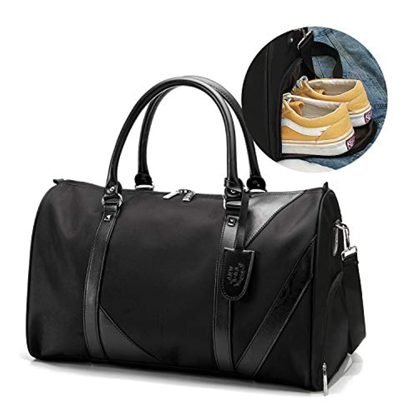 ベッド生きているペリスコープ[TcIFE]ボストンバッグ レディース メンズ スポーツダッフルバッグ ガーメントバッグ 大容量 修学 旅行トラベルバッグ シューズ収納バッグ