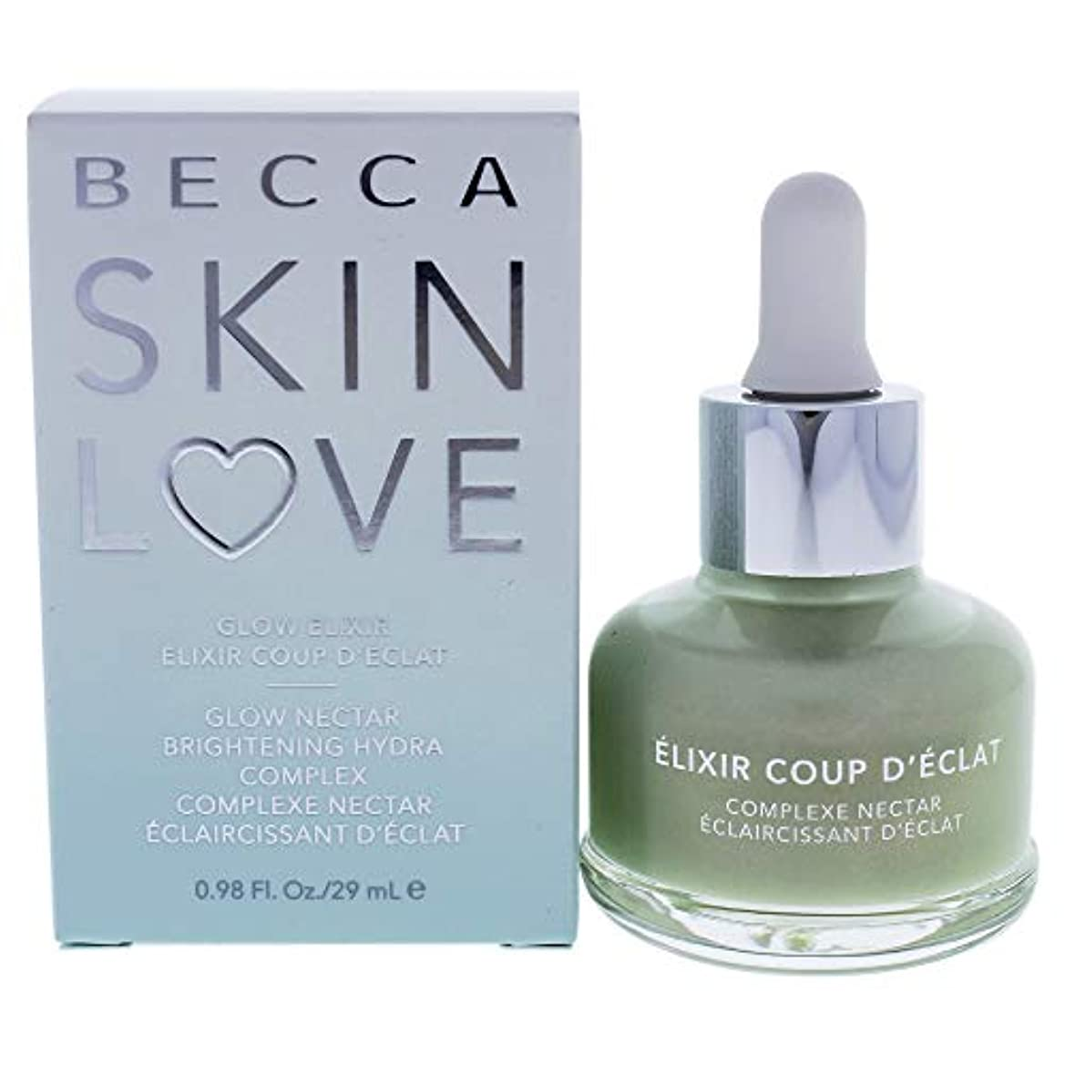眠る発表宿ベッカ Skin Love Glow Elixir Glow Nectar Brightening Hydra Complex 29ml/0.98oz並行輸入品