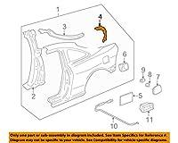 HONDA (ホンダ) 純正部品 ガター R.リヤーピラーロアー インテグラ 3D 品番63322-ST7-310ZZ